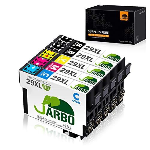 JARBO Ersetzt für Epson 29XL 29 XL Druckerpatronen hoher Reichweite für Epson Expression Home XP-235 XP-245 XP-247 XP-255 XP-257 XP-342 XP-345 XP-352 XP-355 XP-432 XP-442 XP-445 XP-452, 5er-Pack
