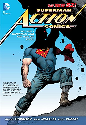 Superman Action Comics Volume 1: Superman and the Men of Steel TP (The New 52)