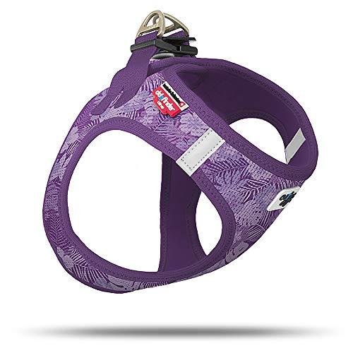 Curli Vest Geschirr Air-Mesh Aloha Lilac Special Edition SE19 SE-AL Größe M von mylittledog