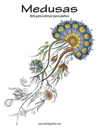 Medusas libro para colorear para adultos 1: Volume 1