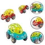 DAMX Baby Spielzeug Oball Greifball Auto Spielzeug Baby Auto Aufziehautos mit Rückzug Spielzeugauto ab 1 Jahren Spielzeug Auto Autos Spielzeug Cars Geschenke Spielzeug ab 1 Jahre (Mehrfarbig)