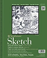 "Strathmore Premium Recycled Sketch Book 9""X12""-100 Sheets (並行輸入品)"