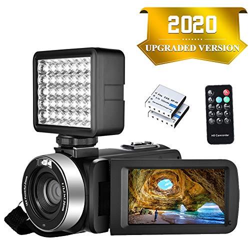 Camcorder Video camera Full HD 1080P 30FPS 24.0MP Digital Camera Night Vision Vlogging Camera...