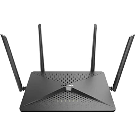 D-Link EXO AC2600 MU-MIMO Dual-Band (2.4 GHz/5 GHz) Gigabit Ethernet Nero Router Wireless
