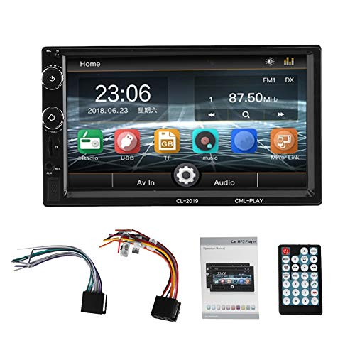 SANON 7 Pulgadas WiFi 2Din Radio de Coche Estéreo Multimedia Bluetooth Mp5 Player