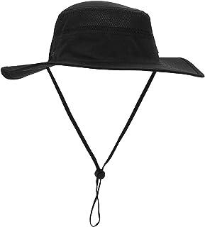 GG ST Sun Hat Men Women UPF 50+ Outdoor UV Protection Mesh Summer Hiking Fishing Hat Beach Foldable Safari Bush Hat Cap