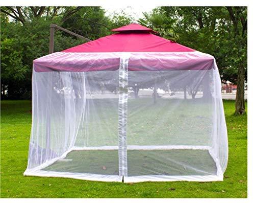 LPing Pearl Outdoor Garden Anti-Mosquito Net Cover,Foot Umbrella Table Screen Terrace Mesh Umbrella Mosquito Net,Outdoor Patio Umbrella Anti-Mosquito Net