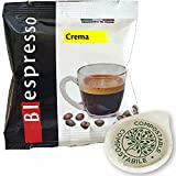 Biespresso 150 cápsulas de café filtro papel ESE 44 mm sabor crema