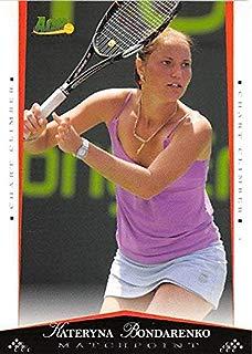 Kateryna Bondarenko Tennis Card (Ukraine) 2008 Ace Authentic Matchpoint Rookie #55
