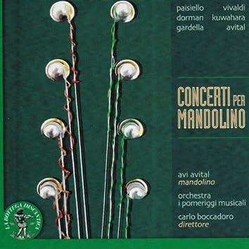 Paisiello, Vivaldi, Dorman, Kuwahara, Gardella, Avital: Concerti per mandolino