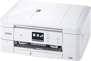 (旧モデル) ブラザー プリンター A4 インクジェット複合機 DCP-J978N-W (白モデル/ADF/有線・無線LAN/手差しトレイ/両面印刷/レーベル印刷)