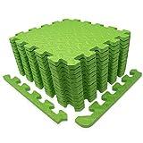 diMio Sport-Schutzmatten - Puzzlematten inkl. Randstückein in verschiedenen Größen und Farben - Schutzmatte/Unterlegmatte/Fitnessmatte/Bodenschutz Matte