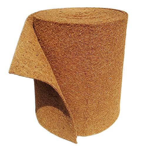 MW.Shop.24 kokosmat 100% biologisch winterbescherming voor planten koudebescherming 25 cm / 50 cm / 100 cm breed 50cm x 2m