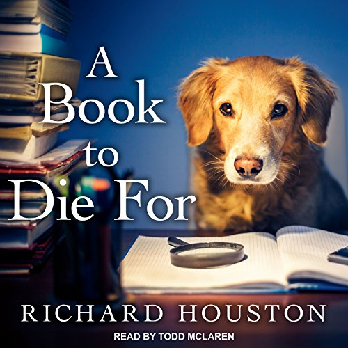 A Book to Die For audiobook cover art