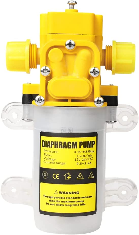 12V Max 71% OFF DC Fresh Ranking TOP14 Water Pressure Diaphragm with Clamps Pump Self Hose