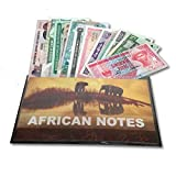 IMPACTO COLECCIONABLES Billetes del Mundo - Colección de Billetes - 12 Billetes Diferentes de África