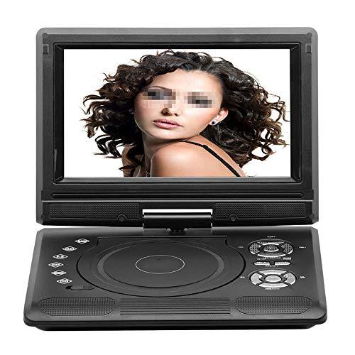 Draagbare DVD-speler van 9,8 inch met gamepad, hoge resolutie, batterij, afspelen in formaten AVI/RMVB/MP3/JPEG, ondersteuning van USB en SD-kaart.