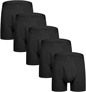 Boxers Briefs for Men Cotton Underwear Men Boxers Classic Black Boxer Briefs for Men Mutipack