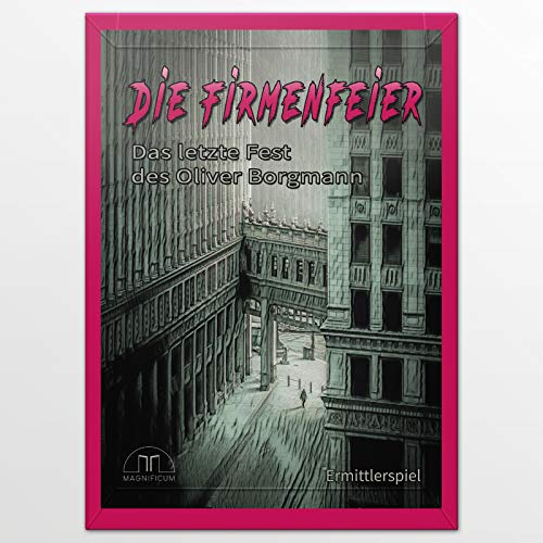 MAGNIFICUM Krimispiel: Die Firmenfeier - Das letzte Fest des Oliver Borgmann, Escape Room Spiel