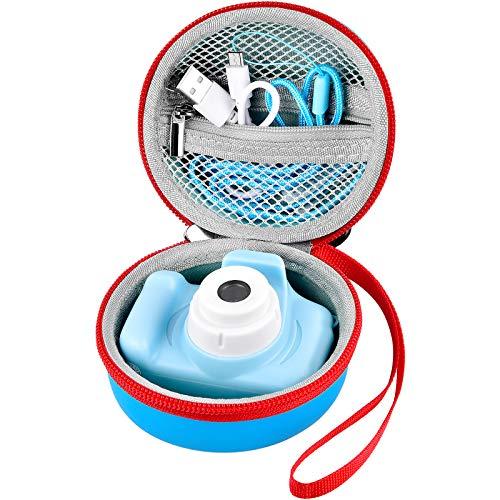 Tasche für Kimy/TekHome/OCDAY/LeaderPro/Dreamingbox Kinderkamera (Blue)