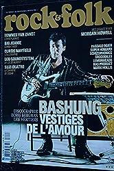 ROCK & FOLK 620 COVER ALAIN BASHUNG PASCALE OGIER BIG JOANIE TOWNES VAN ZANDT SUZI QUATRO CURTIS MAYFIELD