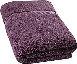 Utopia Towels - Toallas de baño Grandes, Paquete de 1 (90 x 180 cm, Ciruela)