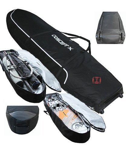 Doppel Boardbag Concept X 230cm x 63cm , Surf Board Bag , Double