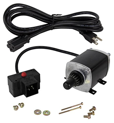 Rareelectrical New 120 Volt Counterclockwise 16 Tooth Starter Motor Compatible With Tecumseh Engine By Part Numbers 33329 33329D 33329E 33329F