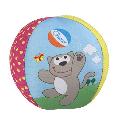 Chicco- Pallina Soft, 3-36 Mesi, Multicolore, 00005835000000