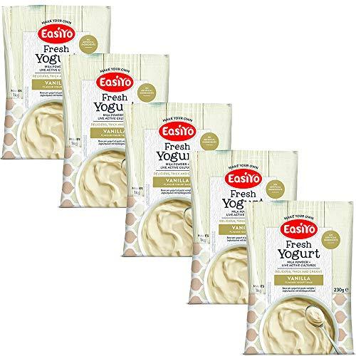 EasiYo Everyday 5er-Pack Joghurtmischung Vanille