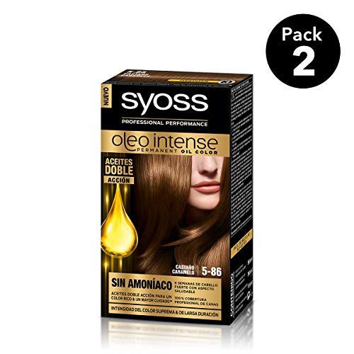 SYOSS - Oleo Intense Coloración Permanente Sin Amoníaco  - Tono 5-86 Castaño...