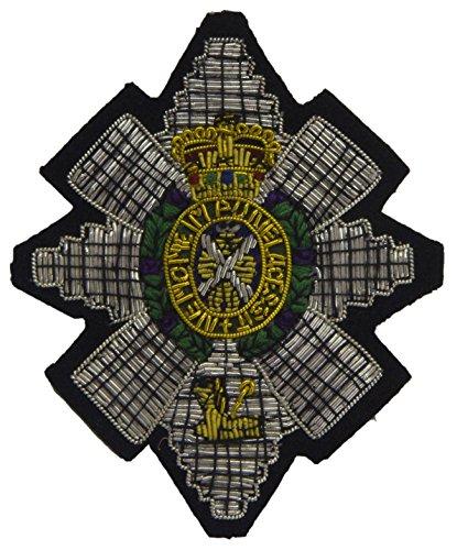 Zwarte Horloge Regimentale Blazer Badge