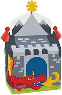 Big Dot of Happiness Calling All Knights and Dragons - Treat Box Party Favors - Medieval Party or Birthday Party Goodie Ga...