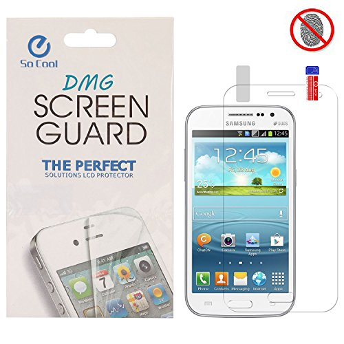DMG SoCool Screen Protector for Samsung Galaxy Grand Quattro i8552 (Pack of 2 Matte Anti Glare Anti Fingerprint Scratch Guard)