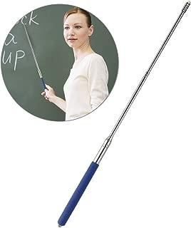 Tinksky Telescopic Teachers PointerTeaching PointerHand Pointer Extendable Telescopic Retractable Pointer Handheld Presenter Classroom Whiteboard Pointer (Blue)