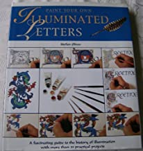 Paint Your Own Illuminated Letters Oliver, Stefan