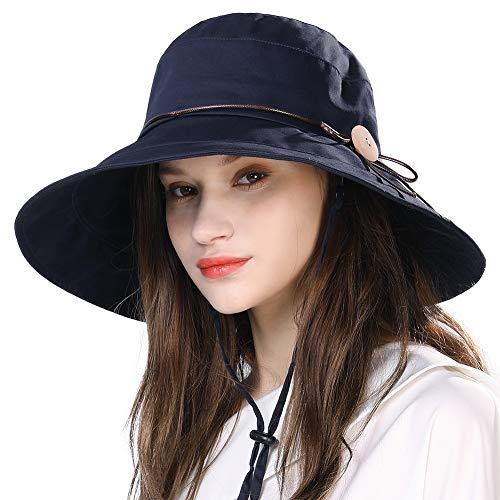 Comhats Summer Beach Bucket Sun Hat…