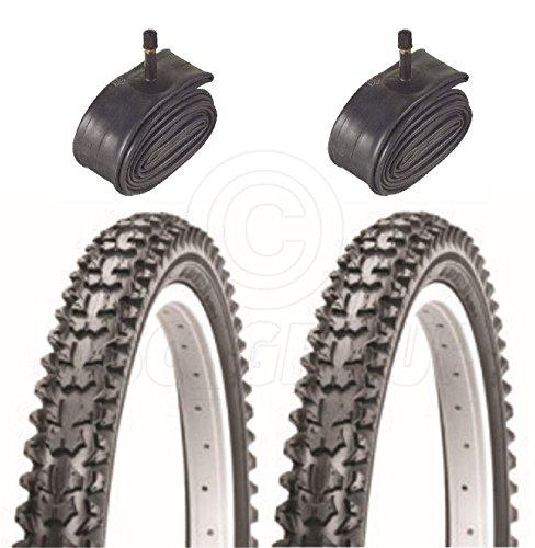 2Fahrrad Reifen Bike Reifen–BMX/Off Road–16x 2.125–mit Schrader Röhren