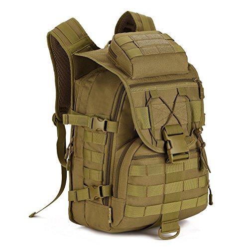 Huntvp 40L Militar Rucksack Taktisch Wanderrucksack Wasserdicht Trekkingrucksack MOLLE...