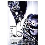 AVP: Alien vs.Predator (2004) carteles de películas arte de pared impresiones en lienzo para sala de estar decoración del hogar decoración de la pared-50x70cm Sin marco