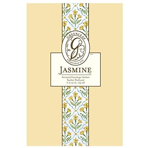 Greenleaf Saquito de perfume grande, fragancia Jazmín
