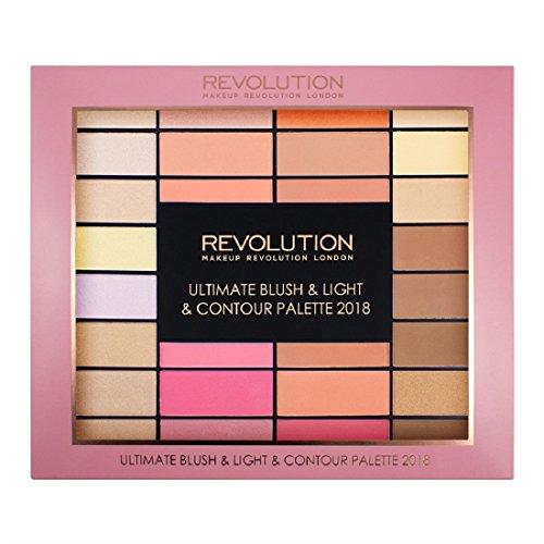 Makeup Revolution - Makeup Palette - Blush, Light & Contour Palette 2018
