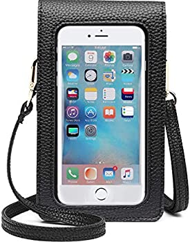 Kingten Lightweight Leather Cell Phone Purse