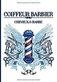 Coiffeur Barbier Cheveux & Barbe: Carnet de rendez-vous Coiffeur Barbier | Agenda...