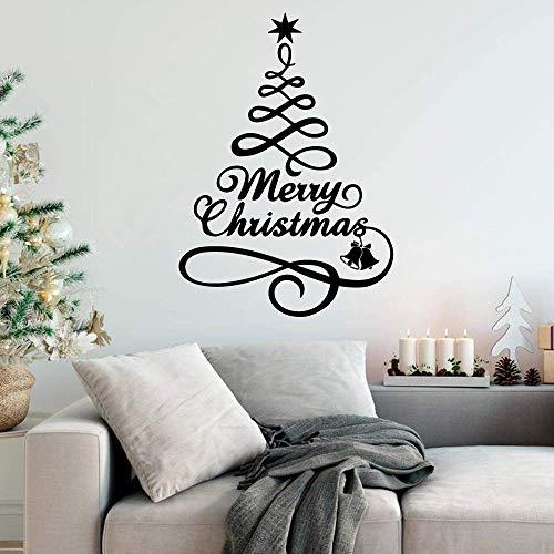 3D Sticker Merry Christmas Waterproof Wall Stickers...
