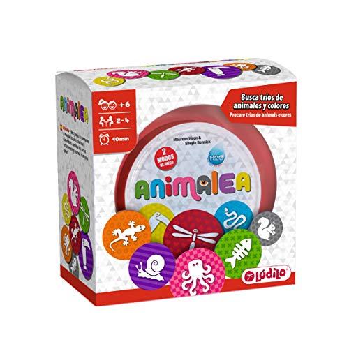 Lúdilo Animalea, Encuentra tríos, mesa en familia, juego educativo para desarrollar concentración...