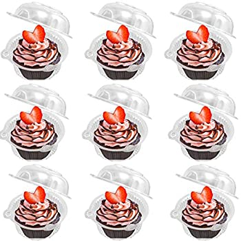 2020 Update Individual Cupcake Container  Pack of 50