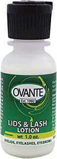 Ovante Lid & Lash Lotion with Tea Tree Oil for Eye Irritation and Eyelid Itch Relief Associated with Demodex - 1.0 oz