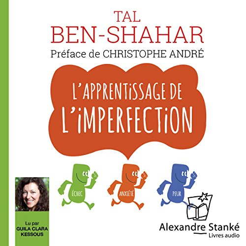 L'apprentissage de l'imperfection audiobook cover art