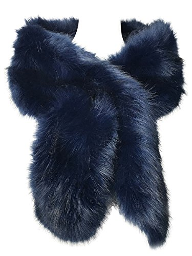 Hot Style Zone - Chal - mujer Azul azul marino Talla